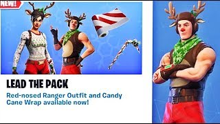❄️*NEW* RED-NOSED RANGER & RED-NOSED RAIDER SKIN! FORTNITE BATTLE ROYALE!❄️