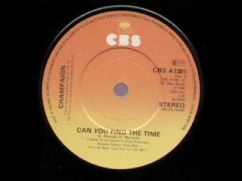 Champaign - Can You Find The Time