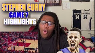 Stephen Curry Full Game 7 Highlights vs Rockets 2018 NBA Playoffs WCF Reaction