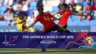 FIFA Women's World Cup | South Africa vs Spain | Highlights