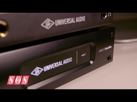 Universal Audio UAD-2 Satellite - AES 2014