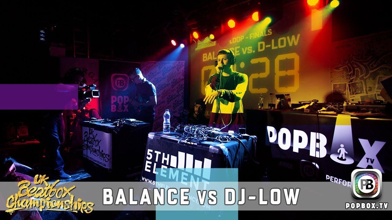 Balance vs DJ-Low   Loopstation Final   2017 UK Beatbox Championships