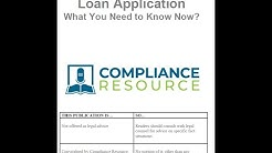 Revised Uniform Residential Mortgage Loan Application: What You Need to Know Now
