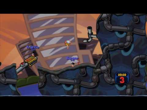 Worms 2: Armageddon Gameplay HD Trailer