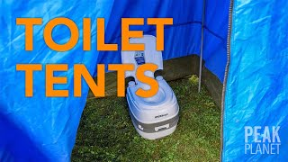 Peak Planet Provides Private Toilet Tents for Their Clients