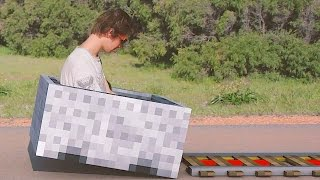 Minecraft In Real Life | The Griefer