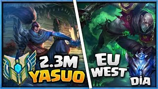 Singed vs 2.3 Milyon Yasuo l Eu West Elmas ELO