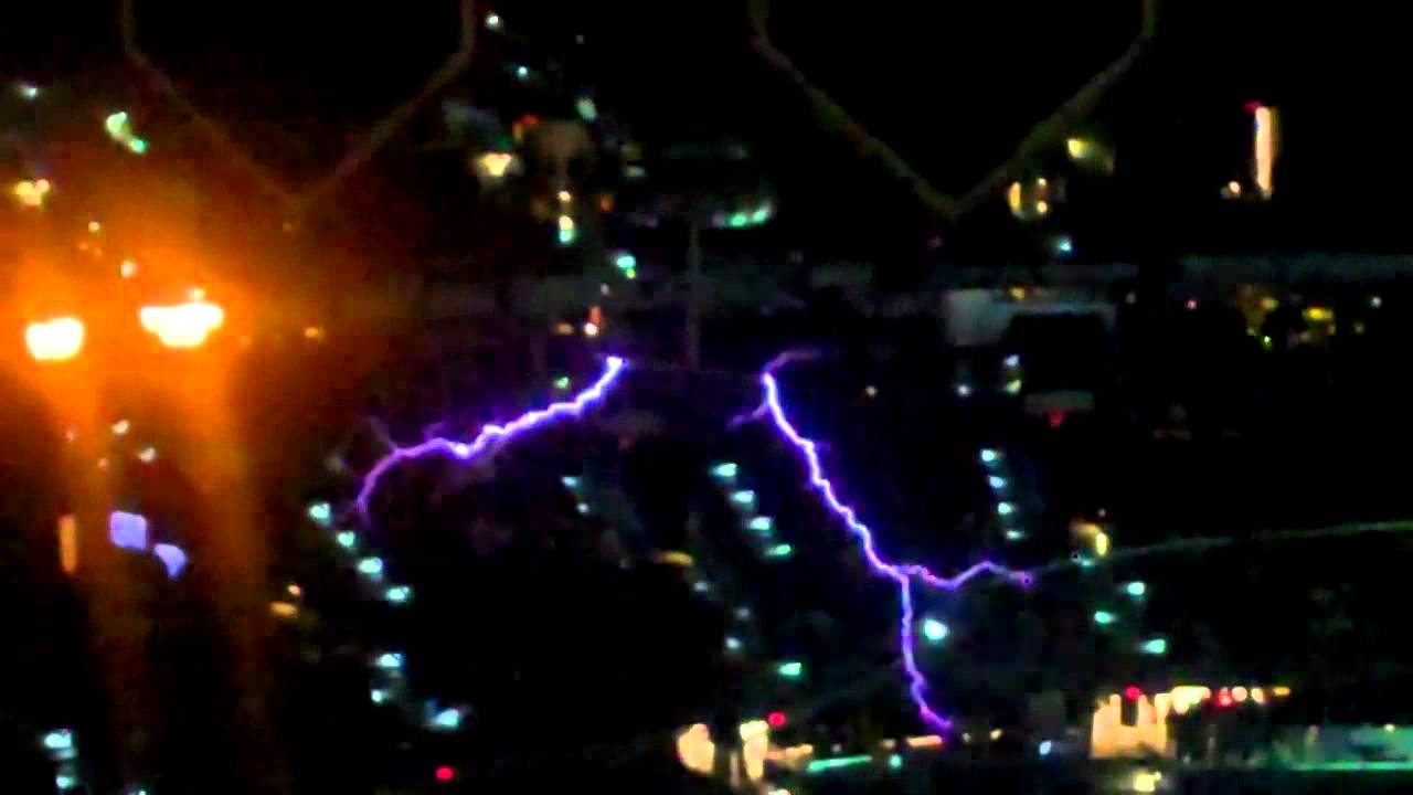 Tampa Bay Lightningu0027s Tesla Coils In Action