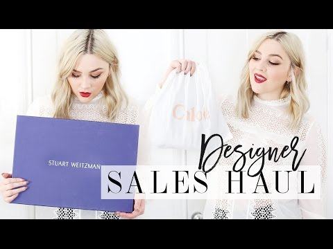 DESIGNER SALES HAUL | Chloé, Gucci, Self Portrait, Stuart Weitzman | I Covet Thee