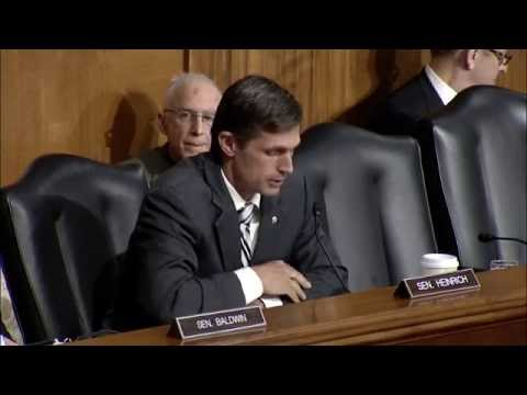 Heinrich Introduces Norman Bay At Senate Nomination Hearing
