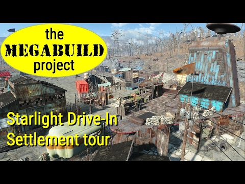 The Megabuild Project - 21 - Starlight Drive-In Settlement Tour
