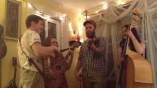Booth Shot Lincoln -- The Empty Bottle String Band