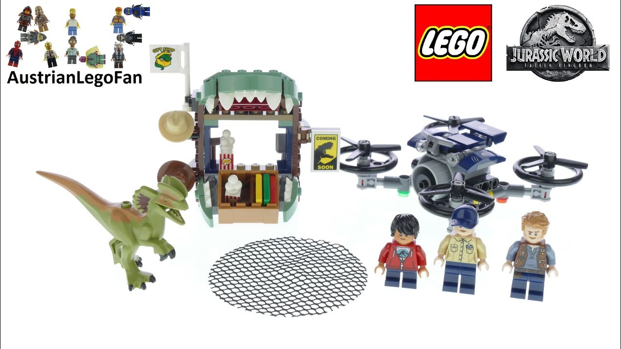 Lego® Jurassic World Dino Dilophosaurus aus Set 75934 Neu