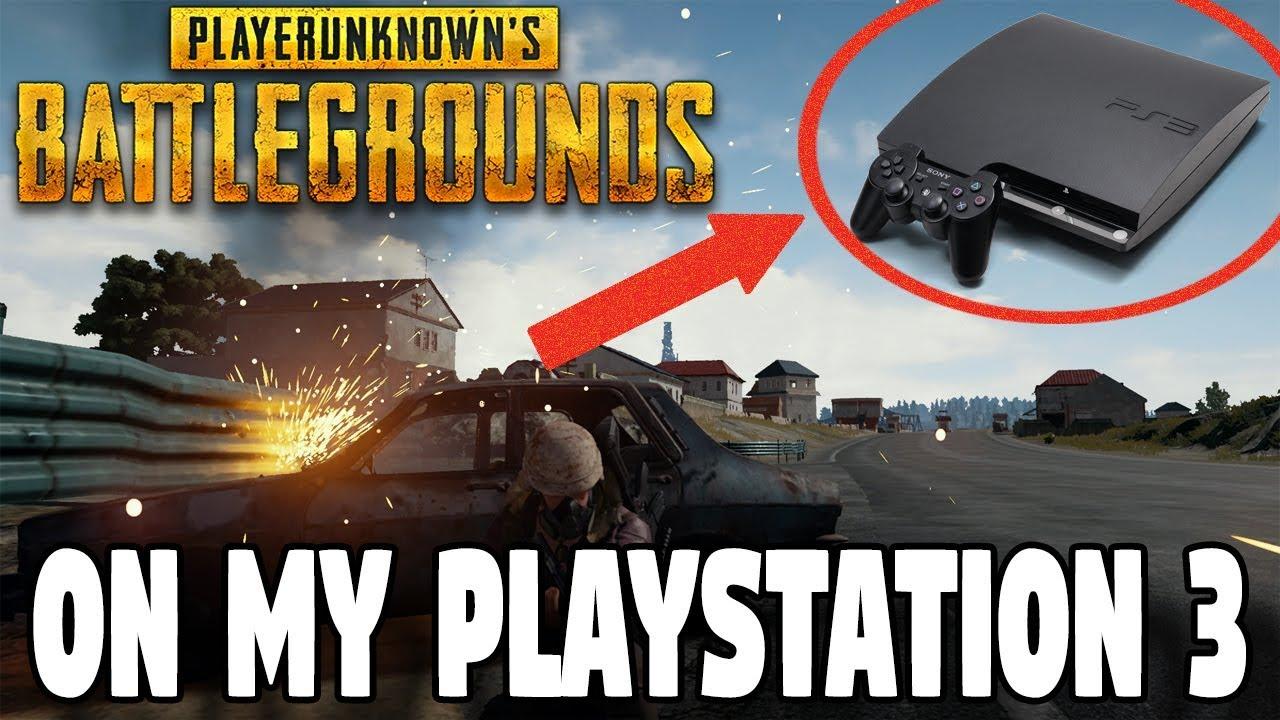 I Got Pubg On My Playstation 3 Please Help Youtube
