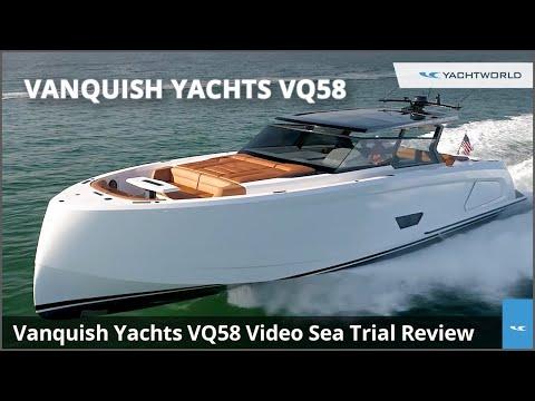 Vanquish Yachts VQ58 Aluminum Luxury Motor Yacht Review
