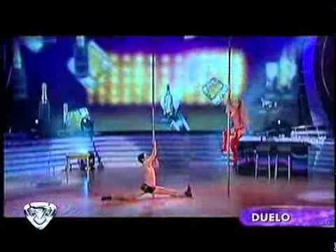 Showmatch 2010 - Un accidentado duelo del baile del caño