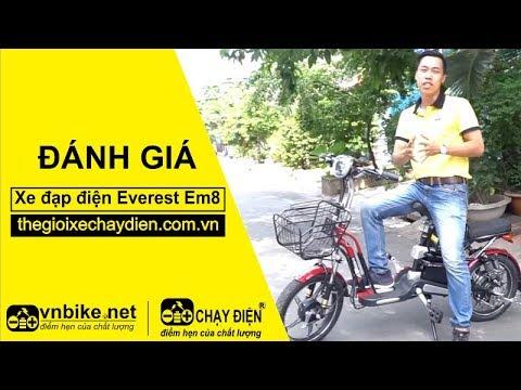 Đánh giá xe đạp điện Everest EM8