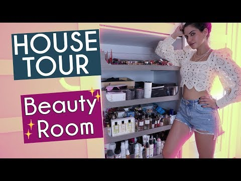 House Tour (Part 2): BEAUTY ROOM