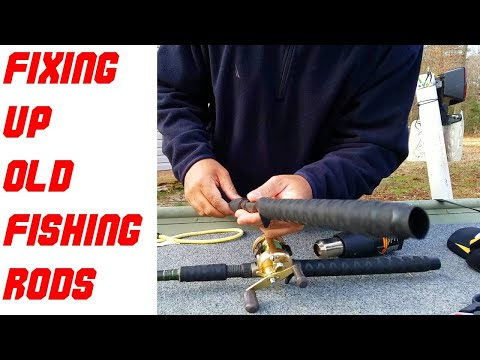 How To Repair Or Upgrade Fishing Rod Handles