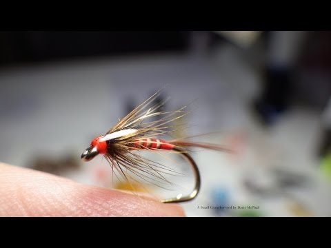 Tying a Red Quilled Cruncher by Davie McPhail