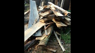 Selling slabs from the sawmill