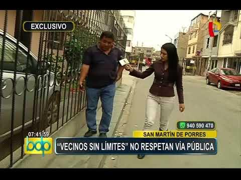 Comas: 'Vecinos sin límites' se apoderan de veredas