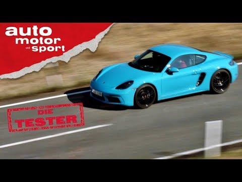 Porsche 718 Cayman: Rakete oder Luftpumpe? - Test/Review   auto motor und sport