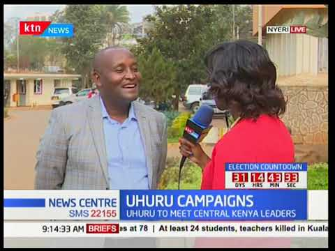 President Uhuru to launch his re-election campaign in Central Kenya