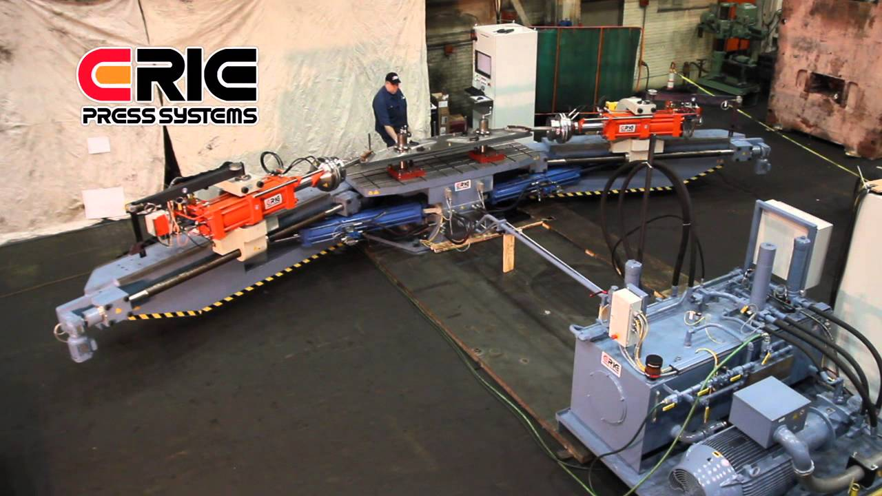 Extrusion Stretch Forming Machine Youtube