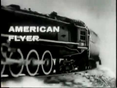 Gilbert Toys American Flyer Train Commercial