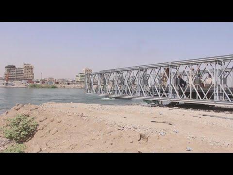 أخبار حصرية - إنشاء ثاني جسر عائم لتسهيل تنقل السكان بين جانبي #الموصل  - نشر قبل 10 ساعة