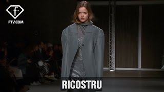 Milan Fashion Week Fall/WItner 2017-18 - Ricostru | FTV.com