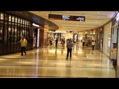 Marina Bay Financial Centre subway link in Feb 25, 2014