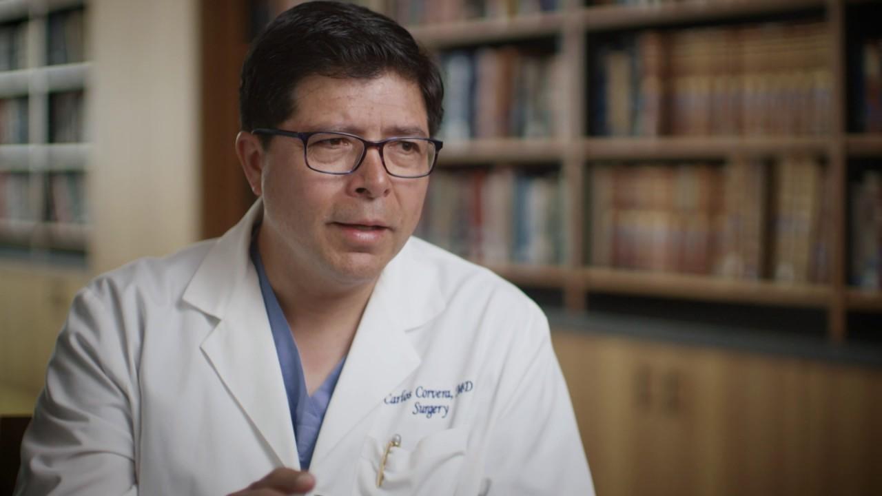 Our Calling: Dr  Carlos Corvera, gastrointestinal cancer surgeon