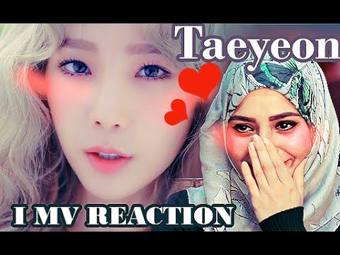 Taeyeon - I (feat. Verbal Jint) Music Video ARAB FAN REACTION