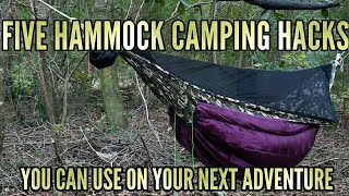 5 Hammock camping hacks and tips you can use on your next adventure!