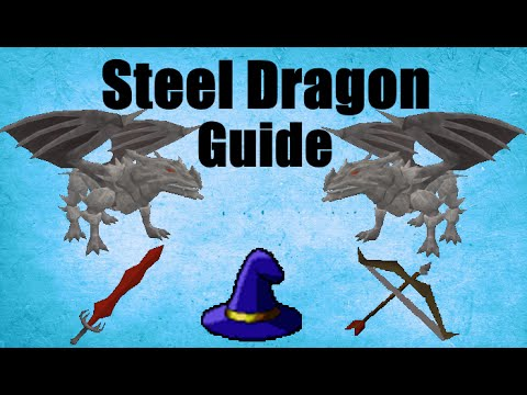 Steel Dragons Slayer Guide 2007 /Location / Loots Oldschool Runescape (OSRS)