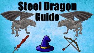 Steel Dragons Slayer Guide 2007 /Location / Loots Oldschool Runescape (OSRS)
