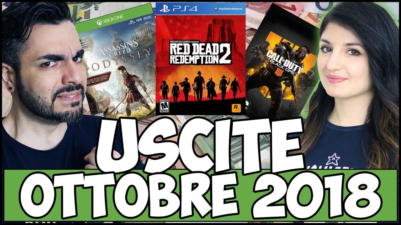 Videogiochi In Uscita Ottobre 2018 Assurdo Costoso Youtube