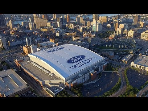 Tremco Roofing Restores Ford Field Roof, Home of the Detroit Lions