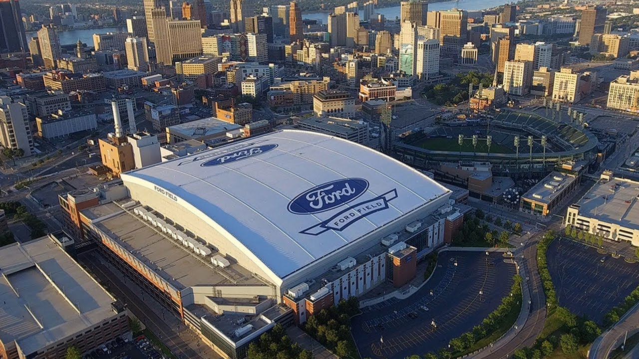 Tremco Roofing Restores Ford Field Roof Home Of The