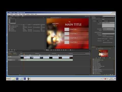 Adobe Encore: Creare fantastici menu. Tutorial 1