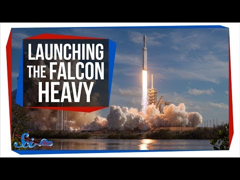 How SpaceX Launched the World's Most Powerful Rocket
