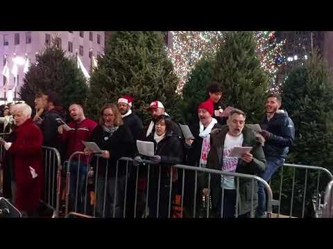 Trump Christmas Carol - Rockefeller Center