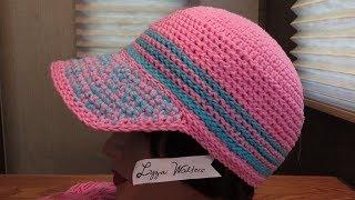 Crochet Stiffy Cord Stitch Cap Part 1