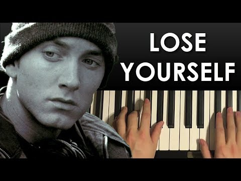 How To Play - Eminem - Lose Yourself (PIANO TUTORIAL LESSON)