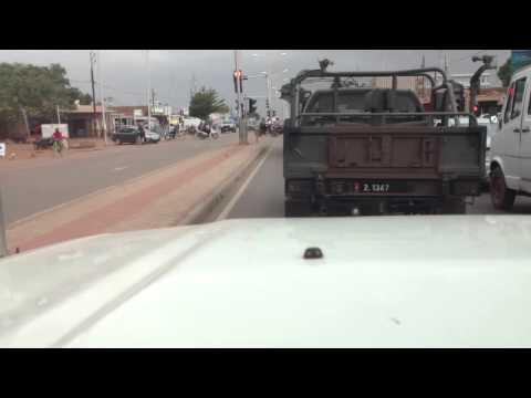 Burkina Fado Driving Time-Lapse