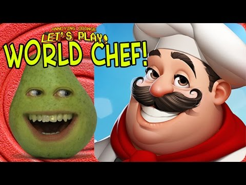 Pear Forced to Play  World Chef