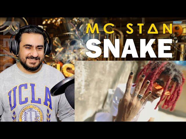 Re-upload: MC STΔN - SNAKE (Official Music Video) | Reaction | IAmFawad