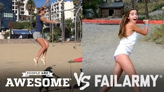 Slacklines & Balance Beams | People Are Awesome vs. FailArmy